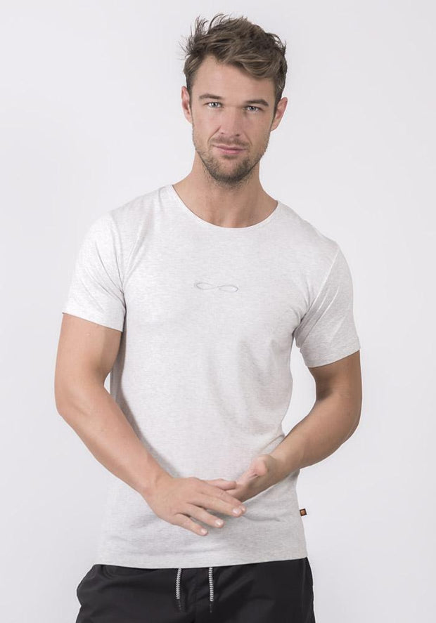 Light Ash Heather Bamboo Stretch T-Shirt