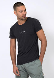 Bamboo Stretch T-Shirt - CARROT BANANA PEACH