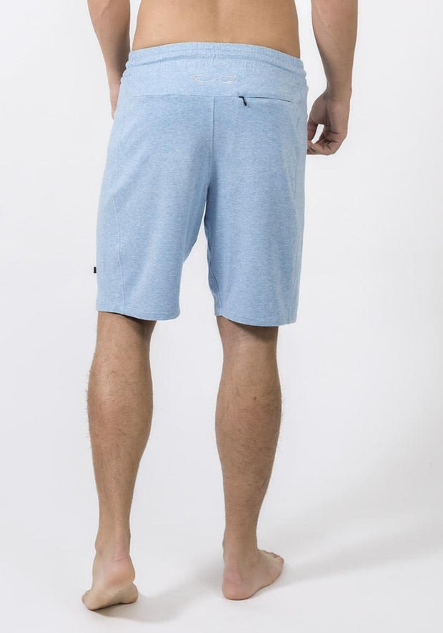 Denim Heather Bamboo Jogging Shorts
