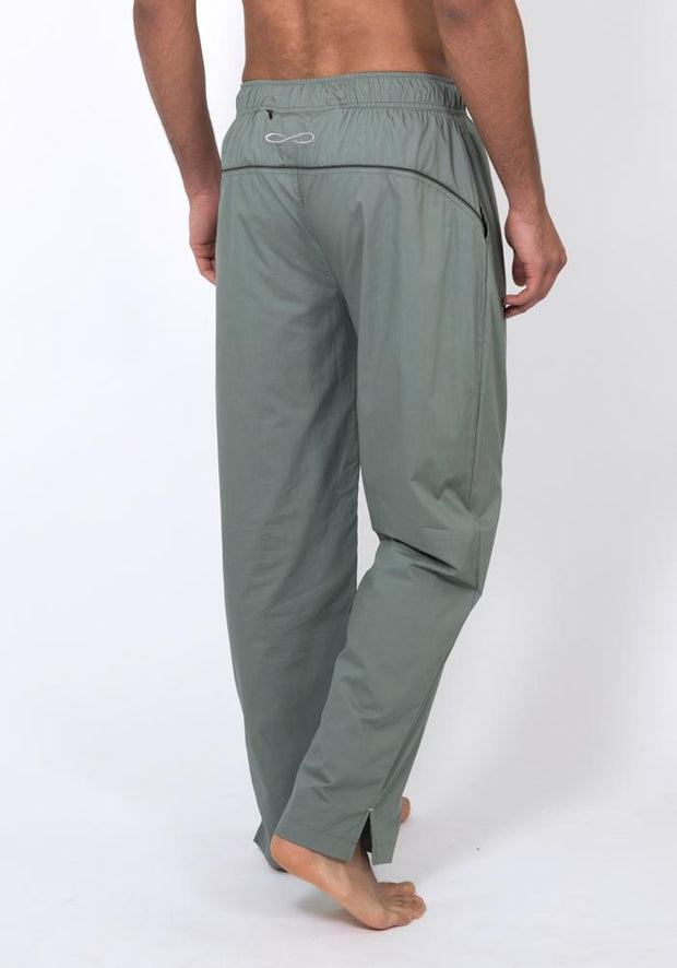 Organic Cotton Poplin Training Pant - CARROT BANANA PEACH
