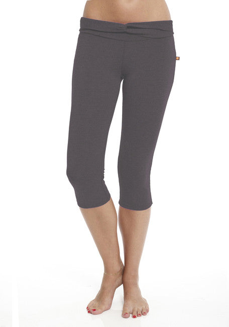 Bamboo Cropped Pant - CARROT BANANA PEACH