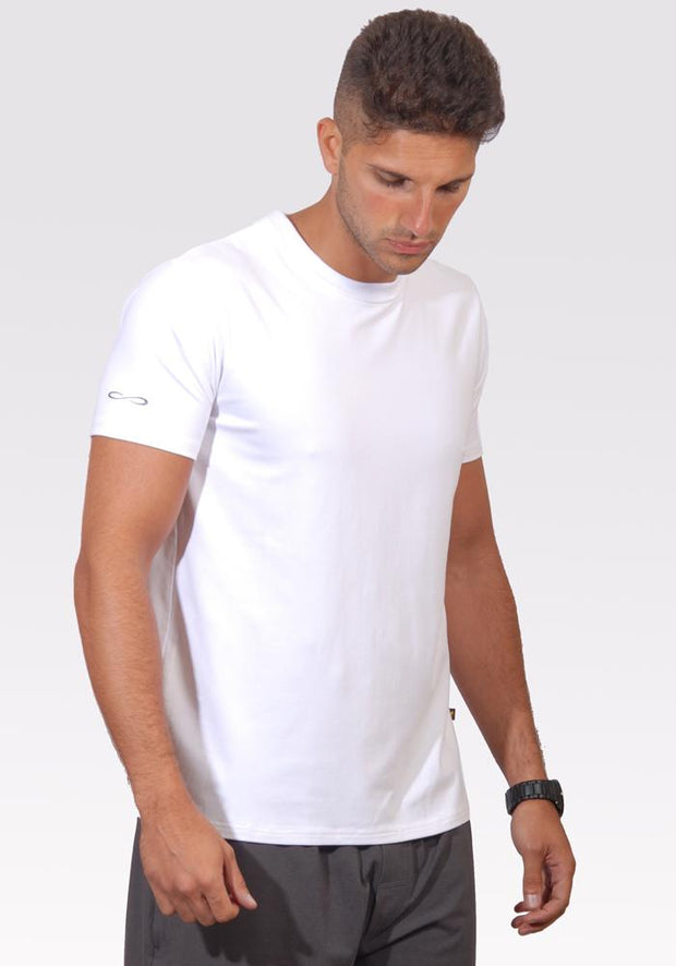 Bamboo Active Tee - CARROT BANANA PEACH