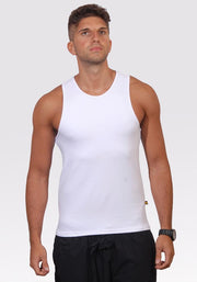 Bamboo Active Tank - CARROT BANANA PEACH