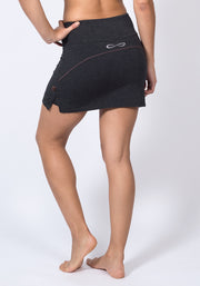 Bamboo Sports Skort - CARROT BANANA PEACH