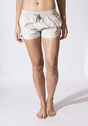 Carrot Banana Peach Shorts L / Ash Organic Cotton Road Runners Short