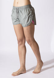 Carrot Banana Peach Shorts L / Moss Organic Cotton Road Runners Short
