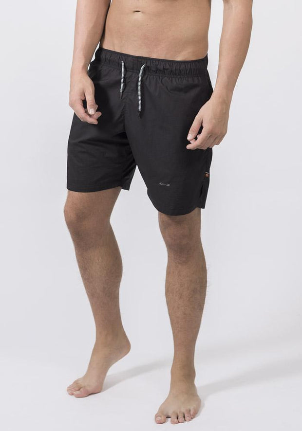 Carrot Banana Peach Shorts XL / Black Organic Cotton Poplin Running Shorts