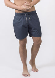 Carrot Banana Peach Shorts XL / Navy Organic Cotton Poplin Running Shorts