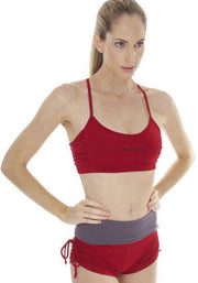 Clearance Items Bra M / Cranberry Banana Power Yoga Sports Bra