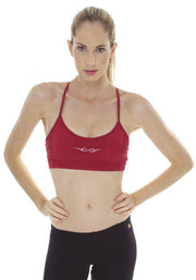 Clearance Items Bra M / Damson Banana Power Yoga Sports Bra