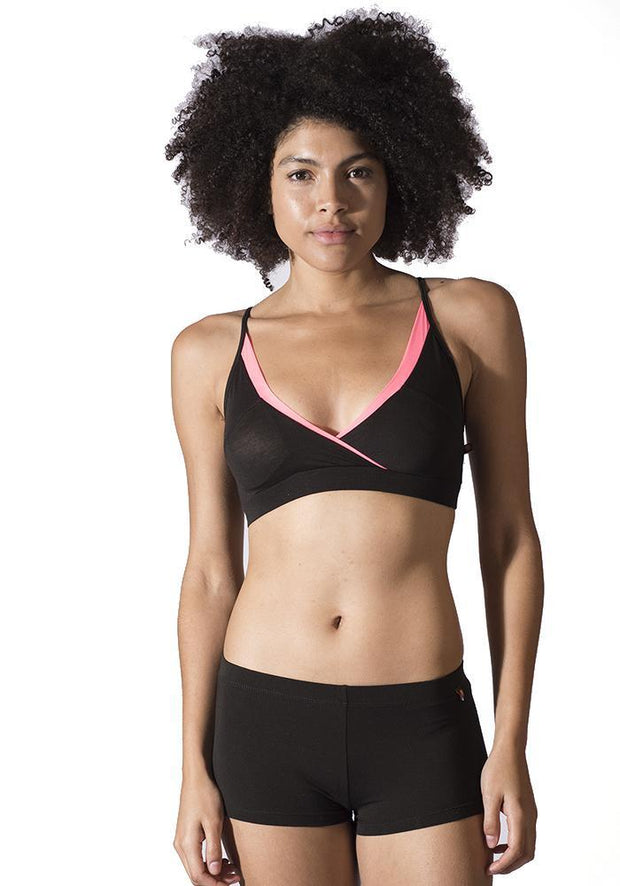 Clearance Items Bra XS / Black Aloe Vera Sports Bra