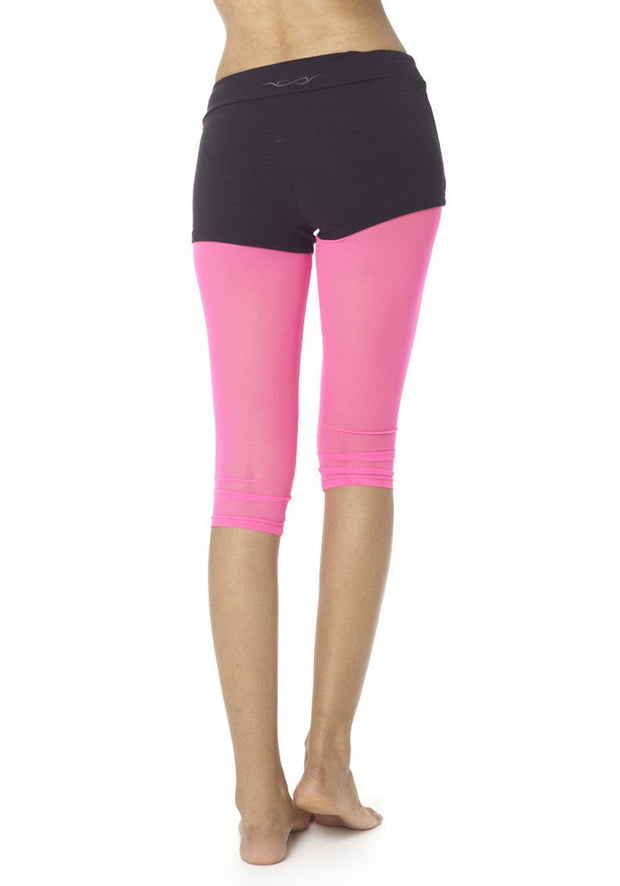 Clearance Items Capri Mesh Running Capris Leggings