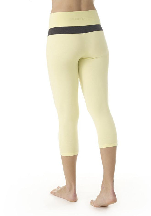 Clearance Items Capri Bamboo V Waist Capri Leggings