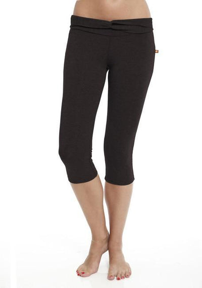 Clearance Items Capri L / Blackberry Bamboo Cropped Pant