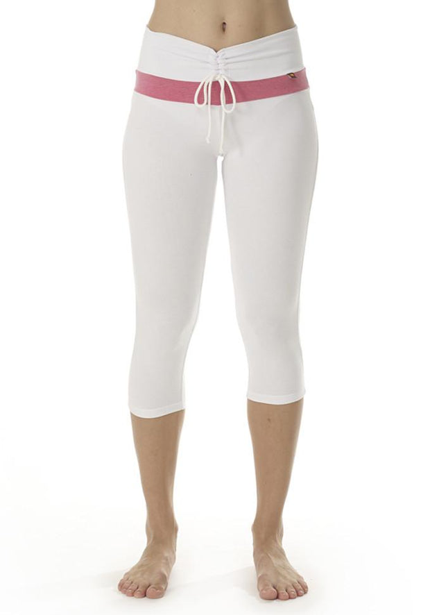 Clearance Items Capri XS / Sugar Bamboo V Waist Capri Leggings