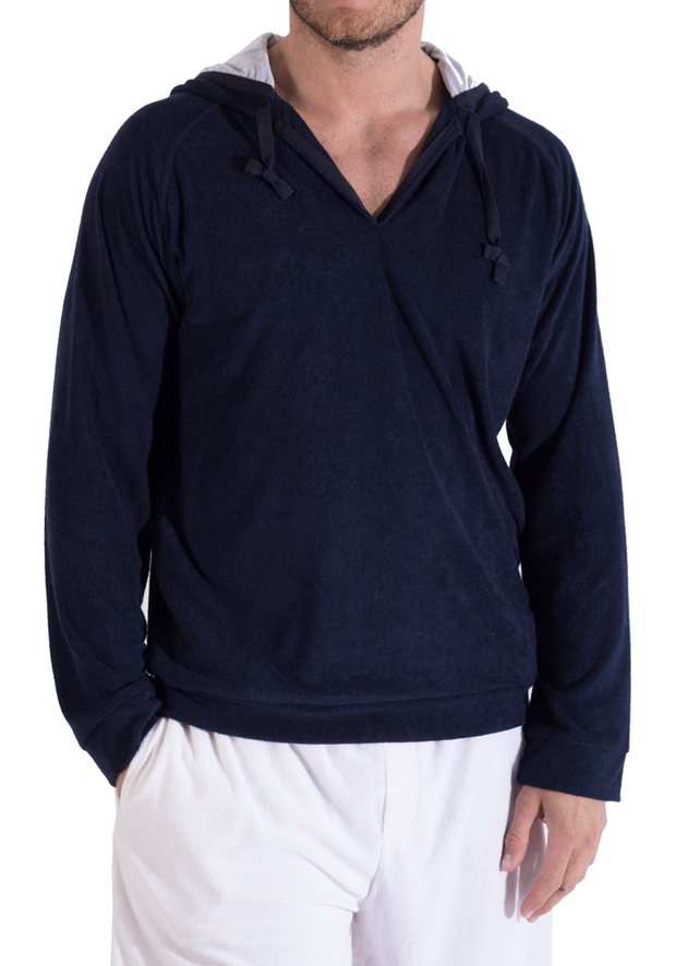 Clearance Items Hoody XL / Navy Bamboo Towel Kurta