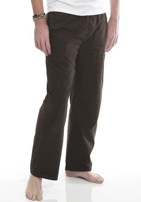 Clearance Items Pant XL / Chocolate Organic Cotton Poplin Trousers