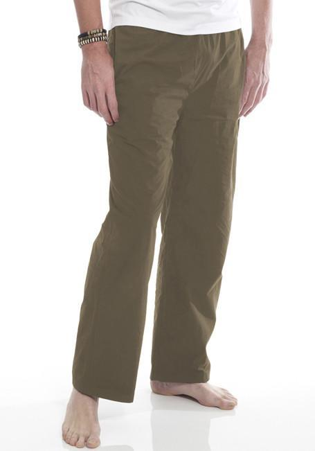 Clearance Items Pant XL / Olive Organic Cotton Poplin Trousers