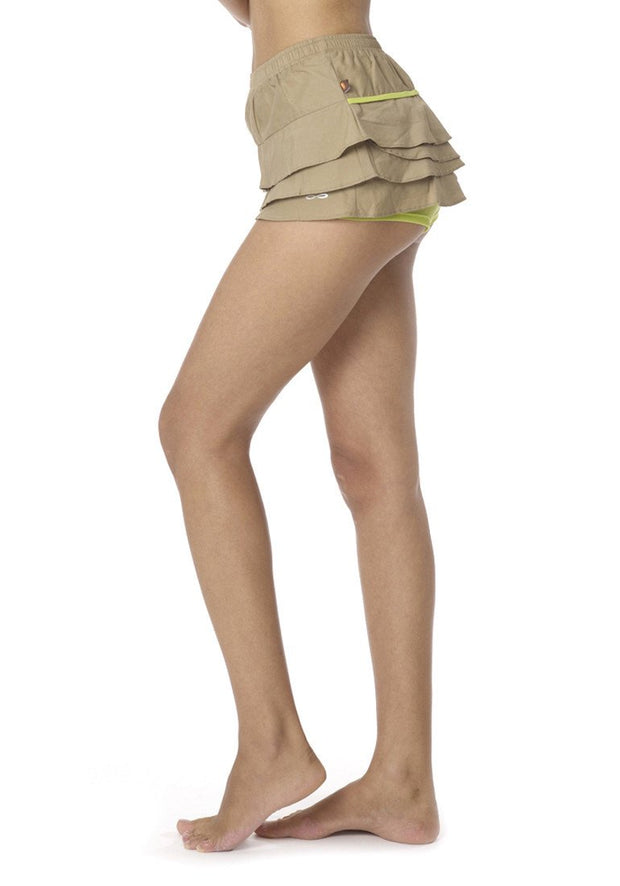 Clearance Items Short Organic Cotton Poplin Float Skort