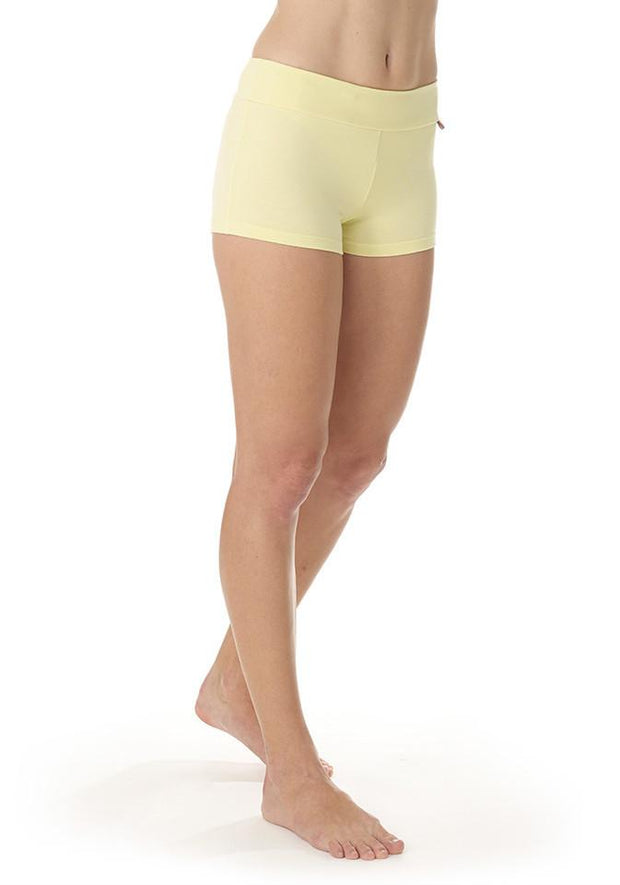 Clearance Items Short XS / Honeydew Bamboo Hot Yoga Short