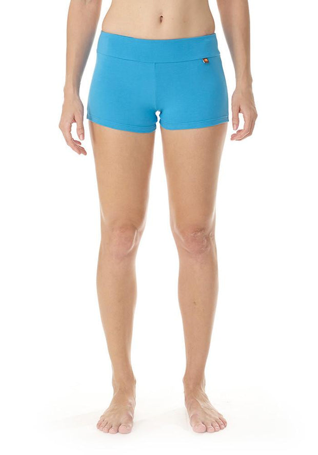 Clearance Items Short XS / Juniper Bamboo Hot Yoga Short