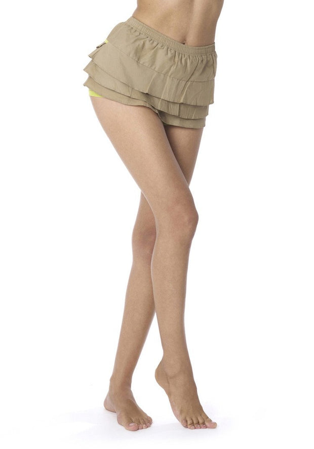 Clearance Items Short XS / Mud Organic Cotton Poplin Float Skort