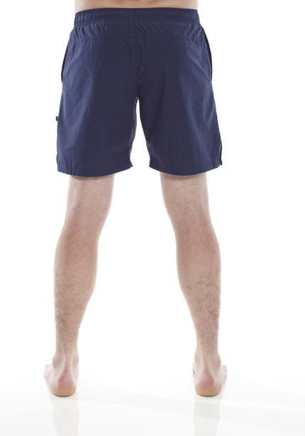 Clearance Items Short XS / Navy Organic Cotton Poplin Runners Shorts