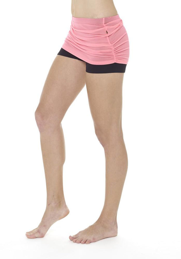 Clearance Items Skort XL / Blackberry & Hot Pink Banana Fitness Skort