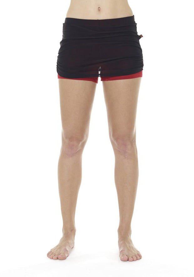 Clearance Items Skort XS / Blackberry & Cranberry Banana Fitness Skort