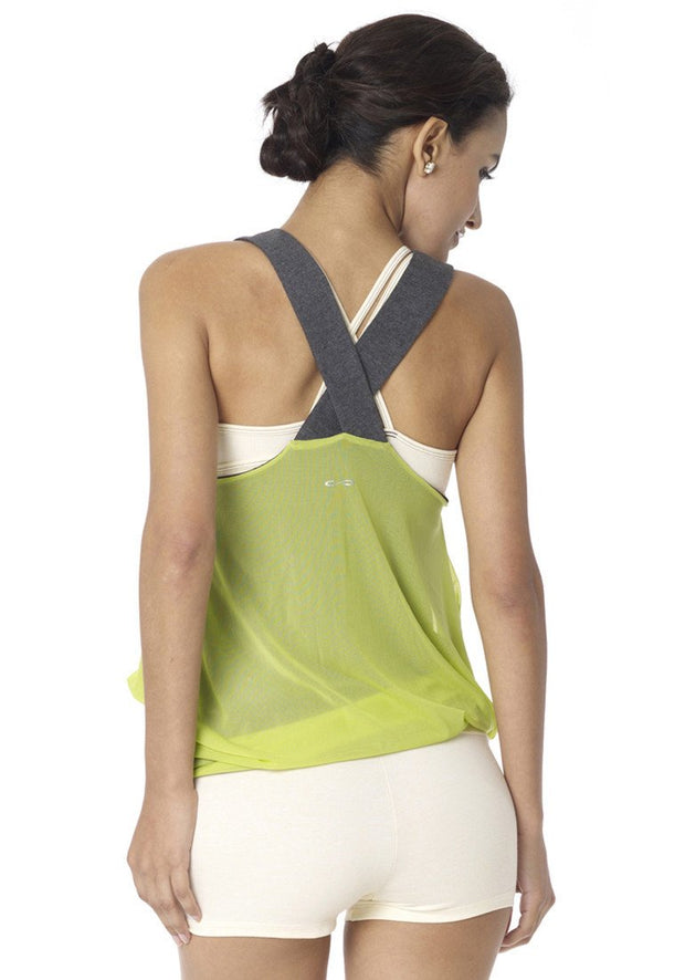Clearance Items Tank Bamboo Reversible Mesh Tank