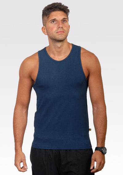 Clearance Items Tank L / Midnight Blue Bamboo Active Tank