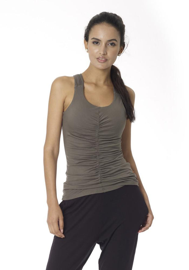 Clearance Items Tank XS / Moss Yoga Retreat Tank Top