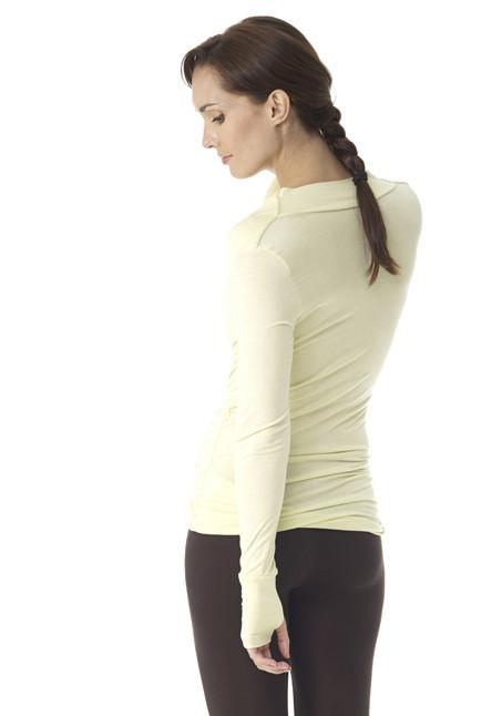 Clearance Items Wrap Yoga Retreat Long Sleeve Top