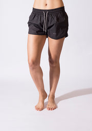 Organic Cotton Road Runners Short - CARROT BANANA PEACH