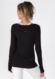 Soybean Long Sleeve Fitness T-Shirt