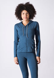 Bamboo Zipped Hoody