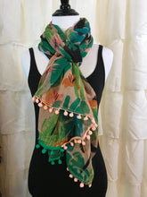 Summer Scarf- Tropical Toucans