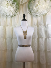 Beige Stretch Belt