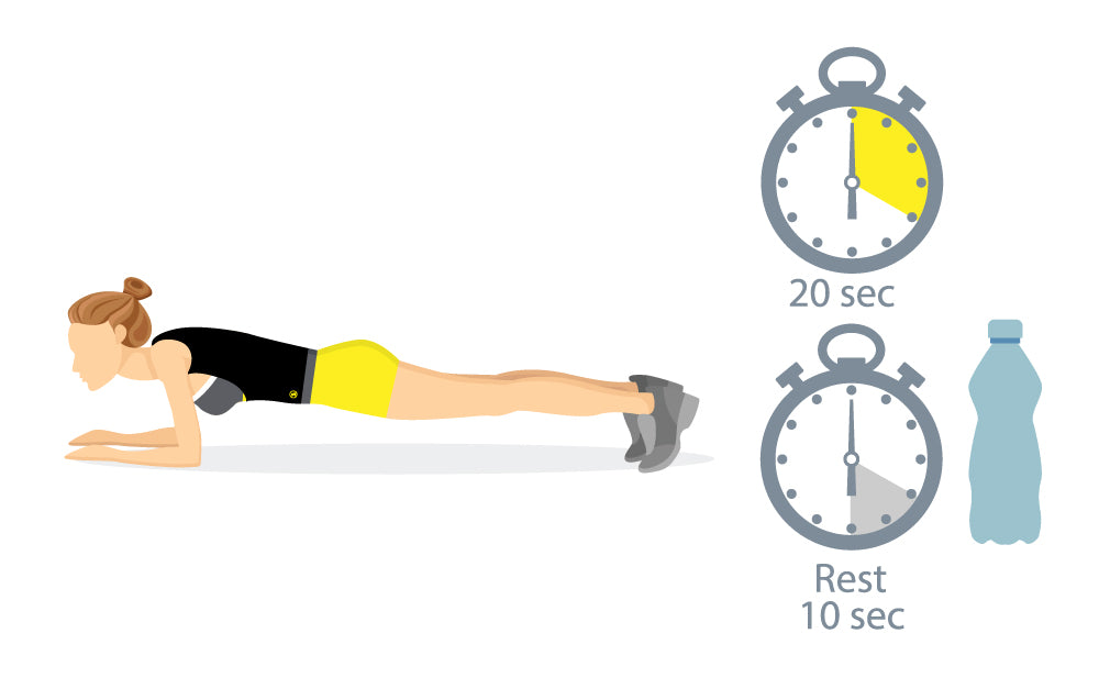 planks for small waist