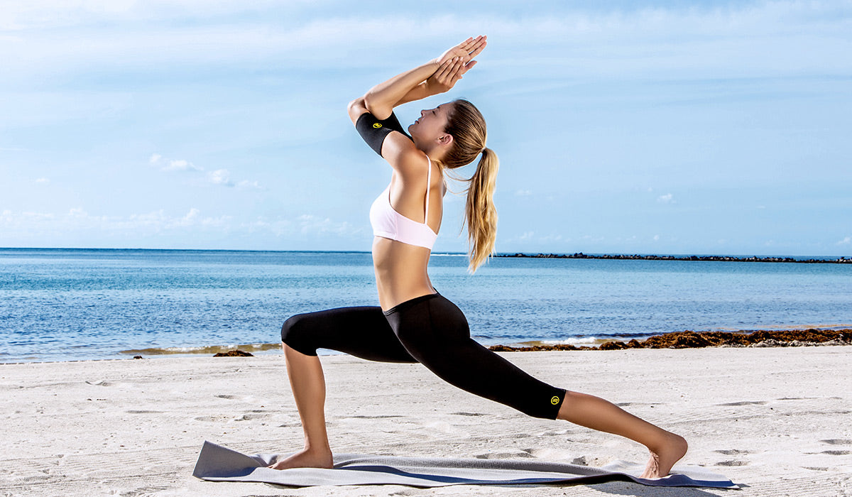 Try wearing our Hot Capri Pants when you head to a vinyasa-style class