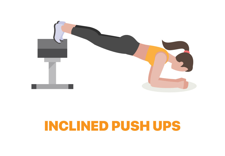Inclined Push Ups for Lazy Days