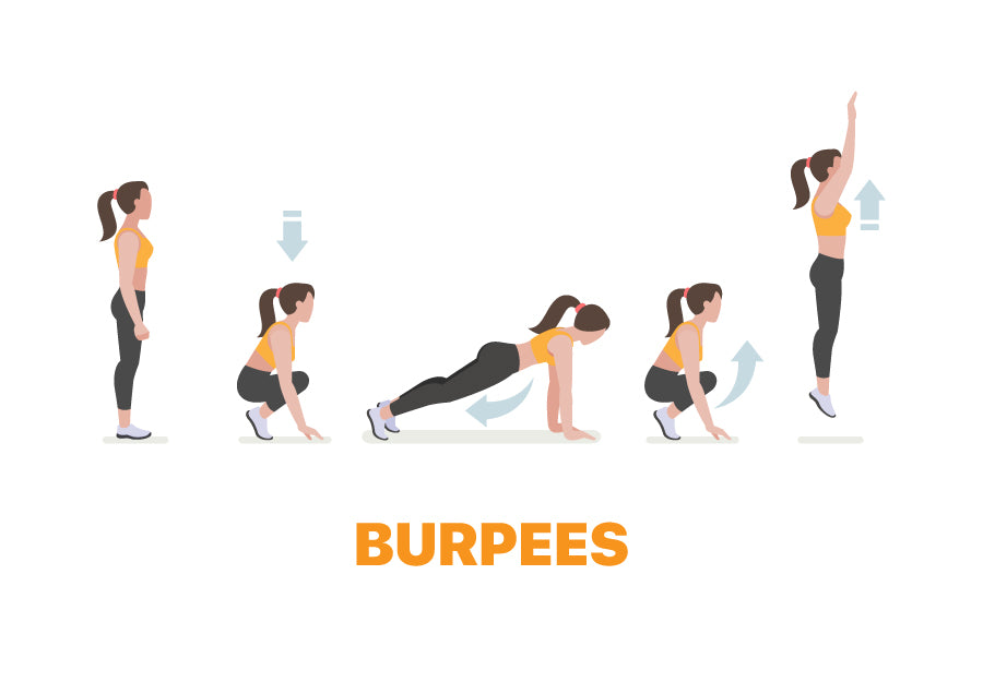 Burpees for Lazy Days