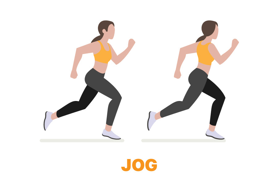 Jog Exercise for Lazy Days
