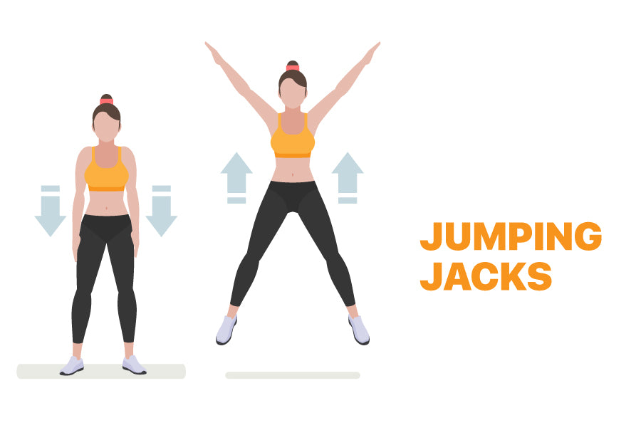 Jumping Jacks for Lazy Days