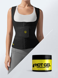 Cami hot waist cincher + waist trainer + hot gel (4oz)