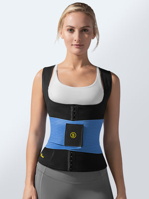 Cami Hot Waist Cincher + Blue Waist Trainer