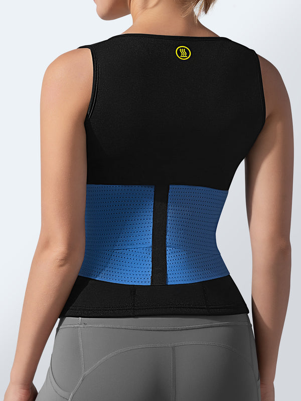 Cami Hot Waist Cincher + Blue Waist Trainer | Hot Shapers