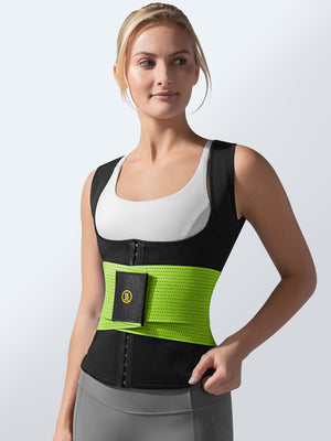 Cami Hot Waist Cincher + Green Waist Trainer