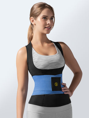 Cami Hot + Blue Waist Trainer