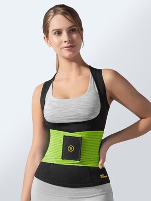 Cami Hot + Green Waist Trainer